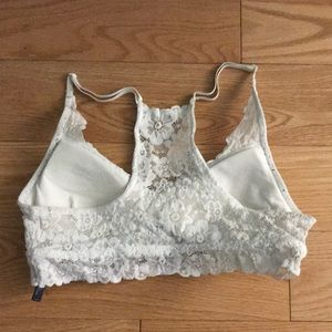 1ebbeafda38475 American Eagle Outfitters Intimates   Sleepwear - White Flower Lace Bralette